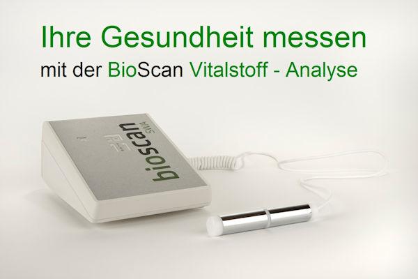 Bioscan - Vitalstoffanalyse